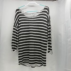 Divided H&M basic  Women's  striped top size L